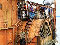 Bangladesh Tour - Rocket Steamer