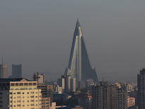 North Korea Tour Hotel Ryugyong Pyongyang