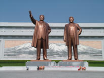 North Korea Tour Mansudae Monument Kim Jong Il